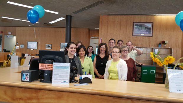 Milford Public Library staff